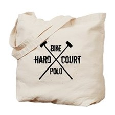 Hardcourt Bike polo Tote Bag