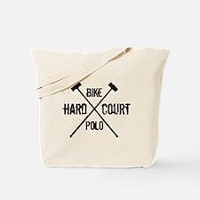 Hardcourt Bike polo Tote Bag