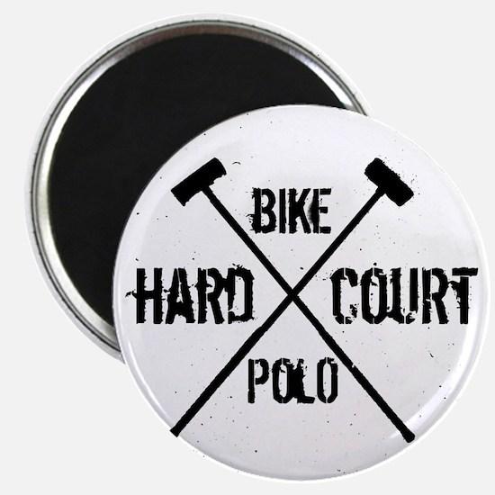 Hardcourt Bike polo Magnet