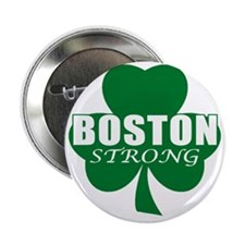 """BOSTON STRONG 2.25"""" Button"""