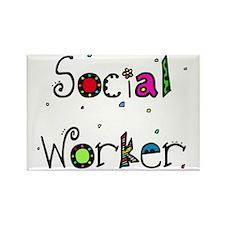 social worker PILLOW Rectangle Magnet