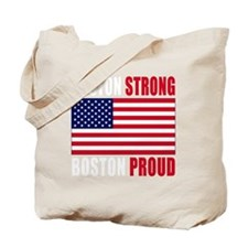 boston strong(blk) Tote Bag