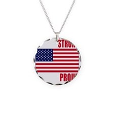 boston strong(blk) Necklace