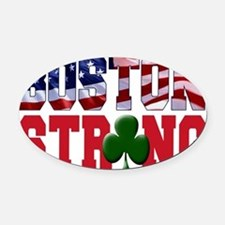 Boston Strong aaa Oval Car Magnet