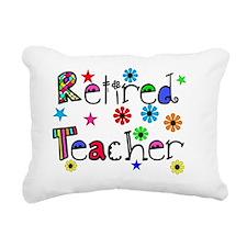 retired teacher stars fl Rectangular Canvas Pillow