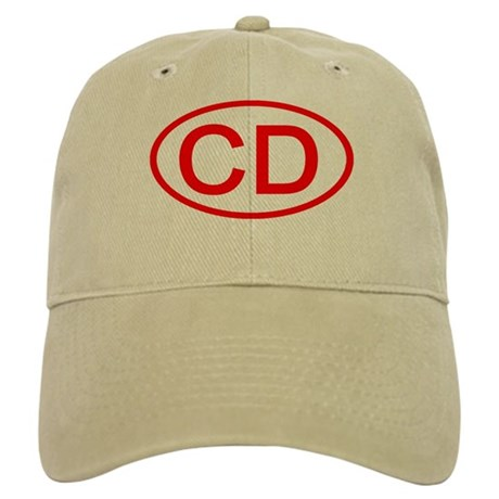 CD Oval (Red) Cap