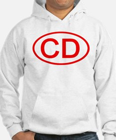 CD Oval (Red) Hoodie