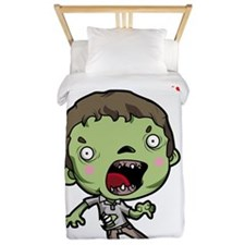 Angry Zombies Twin Duvet