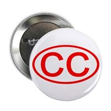 CC Oval (Red) Button