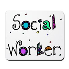 social worker PILLOW 2 Mousepad