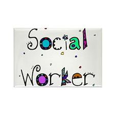 social worker PILLOW 2 Rectangle Magnet