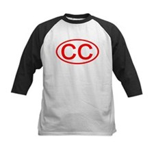 CC Oval (Red) Tee