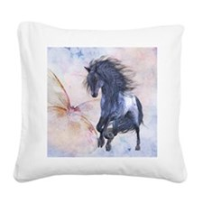 bu_queen_duvet_2 Square Canvas Pillow