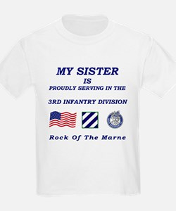 Sister is in the Army - Kids Tee