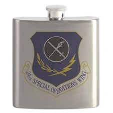 24th SOW Flask