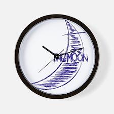bb_rag_back_moon Wall Clock