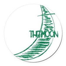 pp_back_moon Round Car Magnet