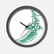 pp_back_moon Wall Clock