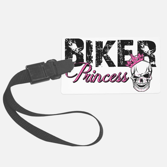 Biker Princess Luggage Tag