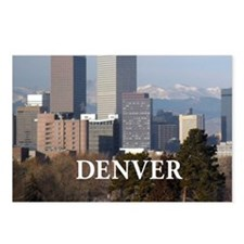 Denver Colorado Postcards (Package of 8)