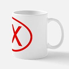 BX Oval (Red) Mug
