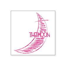 """wt_j_moon Square Sticker 3"""" x 3"""""""