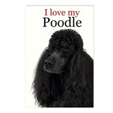 Poodle Love Postcards (Package of 8)