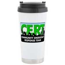 CERT Logo Travel Mug