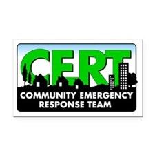 CERT Logo Rectangle Car Magnet