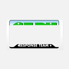 CERT Logo License Plate Holder