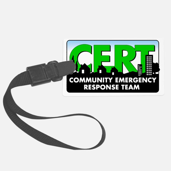 CERT Logo Luggage Tag