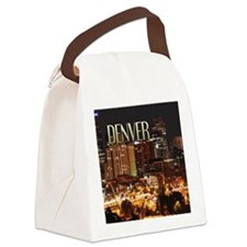 Denver Colorado Canvas Lunch Bag