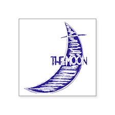 "bb_rag_front_moon Square Sticker 3"" x 3"""