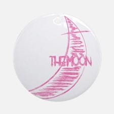 chcl34_the_moon Round Ornament