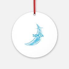wt_tt_the_moon Round Ornament