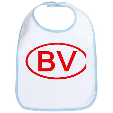 BV Oval (Red) Bib