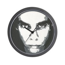 painting b and w Wall Clock