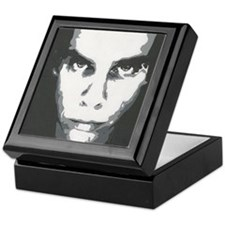 painting b and w Keepsake Box