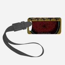 American Picnic Luggage Tag