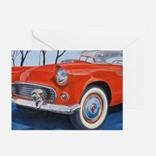 1955 Thunderbird Greeting Cards (Pk of 10)
