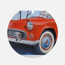 1955 Thunderbird Ornament (Round)