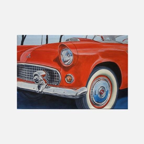 1955 Thunderbird Rectangle Magnet