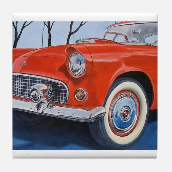 1955 Thunderbird Tile Coaster