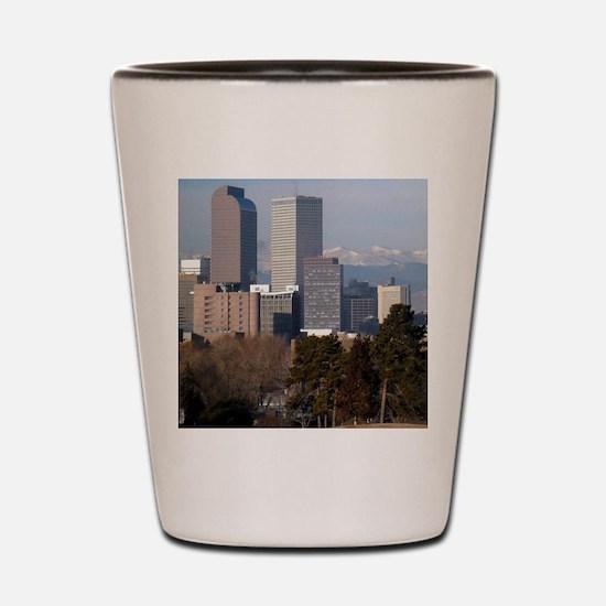Denver Colorado Shot Glass