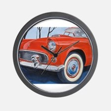 1955 Thunderbird Wall Clock