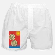 California Pacific Expo Half Dollar C Boxer Shorts