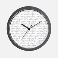 Lather Wall Clock
