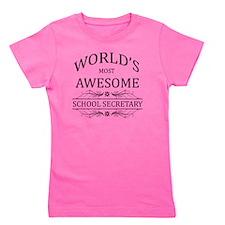 school secretary Girl's Tee