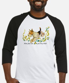Fox Terrier Frolic Baseball Jersey