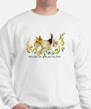 Fox Terrier Frolic Sweatshirt